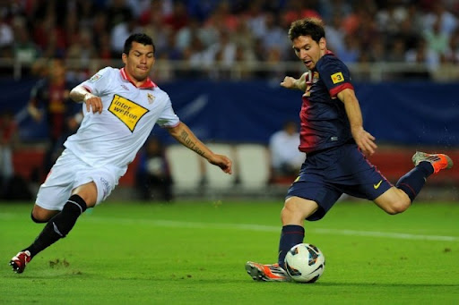 Hasil Pertandingan Sevilla vs Barcelona 2-3, 30 September 2012